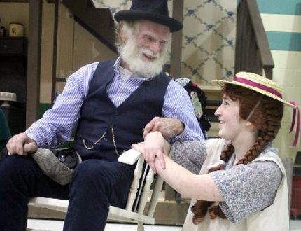 John Fleming and Moira Boucher shine in Musical Comedy Guild's production ofAnneofGreenGables: The Musical. BRIAN KELLY/SAULT STAR