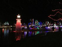 With the flip of a switch the Simcoe Panorama River of Lights kicked off the holiday season in downtown Simcoe on Saturday night. The light festival will run each night until the end of December. KIM NOVAK/Simcoe Reformer