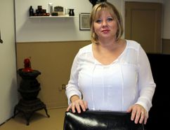 <p>Sally Quenneville-Waldroff at her new shop Country Cuts & More on Monday November 27, 2017 in Long Sault, Ont. </p><p> Lois Ann Baker/Cornwall Standard-Freeholder/Postmedia Network