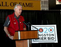 Ken Thompson is the chair of the Kingston group bidding for the 2020 Brier. (Ian MacAlpine/The Whig-Standard)