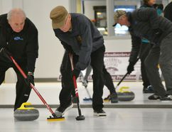 The Cochrane Curling Club hosted its 8th Annual Super Seniors Square Spiel Nov. 22-25 at the Spray Lakes Family Centre. It was the first time the event was held at the new Phillips Curling Centre located at the Spray Lakes Family Centre.