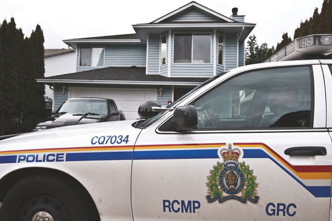 Five people have been charged as a result of a home invasion that took place in the Lakeland Ridge area of Sherwood Park on Tuesday, Nov. 28, which RCMP believe to have been a targeted crime.  File Photo