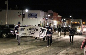 The Cochrane Crunch management, staff and team made the annual Christmas parade possible.