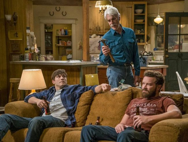 Sam Elliott, Ashton Kutcher, and Danny Masterson in The Ranch. NetflixNetflix / CanoeWP