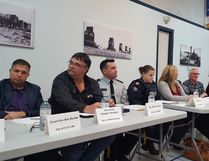 The Dec. 1 rural crime forum had 18 people on the panel mostly made up of local politicians, RCMP and representatives from various crime watch groups