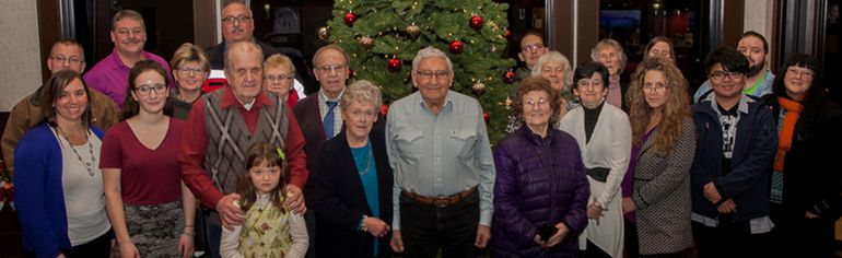 PHOTO SUBMITTED All the nominees for the 2017 Volunteer Awards are pictured at the Chateau Nova Hotel in Peace River, on Dec. 1.