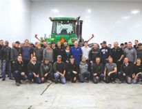 "Participants and sponsors of the LD Seeds ""Grow your Moe and come for the show"" annual Movember event gathered at the shop southwest of Altona last week, for supper and a presentation by STARS air ambulance members. The event was a celebration of a month of no shaving to raise funds for STARS. The amount raised would pay for two emergency missions by the STARS helicopter."