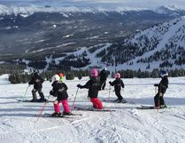 Photo supplied The Parkland Racers Ski Club has made three trips to Jasper National Park to train for the upcoming racing season.
