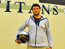 Walsingham native Evan Anseeuw (17) will join the University of Windsor Lancers football program this coming fall. JACOB ROBINSON/Simcoe Reformer