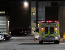An ambulance was called to police headquarters at 601 Dundas St. shortly before 2:30 p.m. Thursday. The ambulance could be seen in the complex's rear parking lot off of King Street at 11 p.m. Thursday. Paramedics didn't transport anyone to hospital from the police station Thursday, an EMS duty manager said.