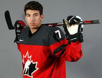 Jordan Kyrou of the Sarnia Sting has played for Team Canada at multiple international tournaments. (DENNIS PAJOT/Hockey Canada Images)
