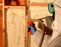 Robert Maxwell/For The Sudbury Star The DIY spray foam kit used for this application is the most economical way to do small sealing jobs around the house.