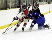 The Central Plains Capitals went 1-1 this weekend after falling 4-3 to the Bruins Saturday and then winning 3-2 in overtime over Interlake Sunday. (File photo/The Graphic)