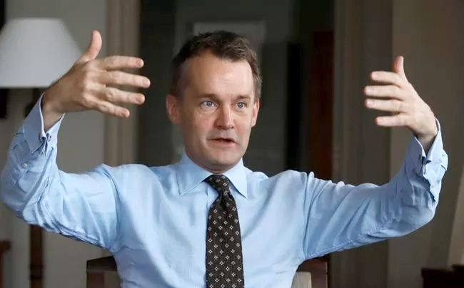 Veteran Affairs Minister Seamus O'Regan gestures during an interview in his office on Parliament Hill in Ottawa on Wednesday, December 6, 2017. New figures show the number of veterans waiting to find out whether they qualify for disability benefits has skyrocketed over the past eight months, leaving thousands of former military members in limbo.Fred Chartrand / The Canadian Press