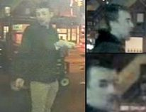 Security camera image of a man police are trying to identify in the investigation into the murder of Tess Richey, 22. (TORONTO POLICE/HANDOUT)