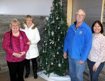 Sean Chase/Daily Observer The Christmas Angels Community Dinner will be held on Christmas Day at the Petawawa Civic Centre Main Hall from noon until 2 p.m. Announcing the return of this special holiday event is the organizing committee (left to right) Gloria Deane-Freeman, Kim Clouthier, Ray Serre and Theresa Sabourin.