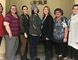 Supplied photo From left to right: Roxanne Krystia Clinical Manager Ambulatory Care Clinics, Melissa Eagles (Patient), Chloe Rouleau Registered Dietitian, Trisha Grey, patient, Teri-Lynn Charbonneau Registered Dietitian, Lynda Erb, Patient, Tina Raso Medical Secretary