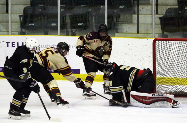 Portage Collegiate's boy's hockey team was in tournament action over the weekend and returned 1-2. They're back on the ice Thursday in Portage for Zone 4 action. (File photo/The Graphic)