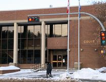 The Fort McMurray court house appears in this Postmedia file photo from Jan. 4, 2012.