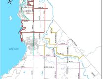 The Town of Saugeen Shores will clear snow from approximately 218-k of roads, 48-k of sidewalks and 2-k of alleys and lane ways this winter, including these plow routes.