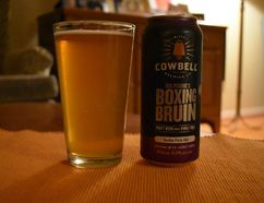 Doc Perdue's Boxing Bruin is Cowbell Brewery's entry into the hop-forward IPA fray. It's named in honour of a vet in Blyth who kept wild animals, including a bear. (Wayne Newton/Special to Postmedia News)