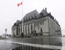 The Supreme Court of Canada is shown in Ottawa on Thursday Nov. 2, 2017. THE CANADIAN PRESS/Sean Kilpatrick