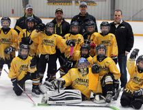 The Millet Atom Storm Tier 4 team took the gold medal game down to the wire before winning the gold medal in a shoot out during the Millet Atom Invitational Tournament Dec. 8-10.