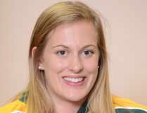 <p>Kristy Pidgeon, of Ingleside, a first-year forward at powerhouse Clarkson, who provided this photo.</p><p> Handout/Cornwall Standard-Freeholder/Postmedia Network