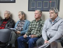 <p>Three generations of the Graveley family who own a farm on Brookdale Avenue watch from the council chambers public gallery on Monday December 11, 2017 in Cornwall, Ont. </p><p> Alan S. Hale/Cornwall Standard-Freeholder/Postmedia Network