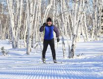 Bob Hanson took to the trails of Kivi Park for some nordic skiing on Wednesday. Trails are open at Kivi Park for skiing, snowshoeing and fatbiking. Gino Donato/Sudbury Star/Postmedia Network