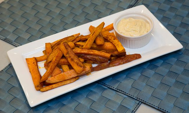 Baked sweet potato fries (MIKE HENSEN, The London Free Press)