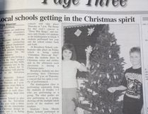 This week's Throwback Thursday takes us back to 2002 and preparations for the Christmas season at Melfort elementary schools. Schools were fundraising for the Salvation Army and preparing for their Christmas concerts. Maude Burke was preparing for their Christmas Craft Day and performed at the Melfort Rotary Carol Festival.