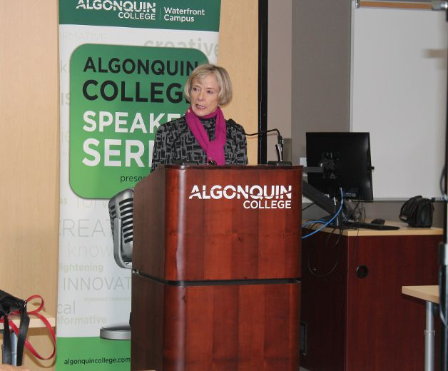 Charlotte Gray concludes Algonquin Speaker Series with The Promise of Canada