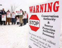 <p>An Ontario Landowners' Association protest in rural Ottawa held in 2007. The OLA has advocated for landowners' rights since it was created almost 15 years ago.</p><p> Mike Carroccetto/Postmedia Network file photo