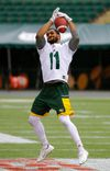 Edmonton Eskimos wide receiver Nate Behar had a rough start in the CFL, beginning with a contract dispute, but he says things have turned around. (LARRY WONG/Postmedia News)