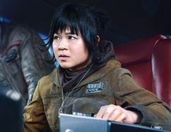 Kelly Marie Tran as Rose in Star Wars: The Last Jedi