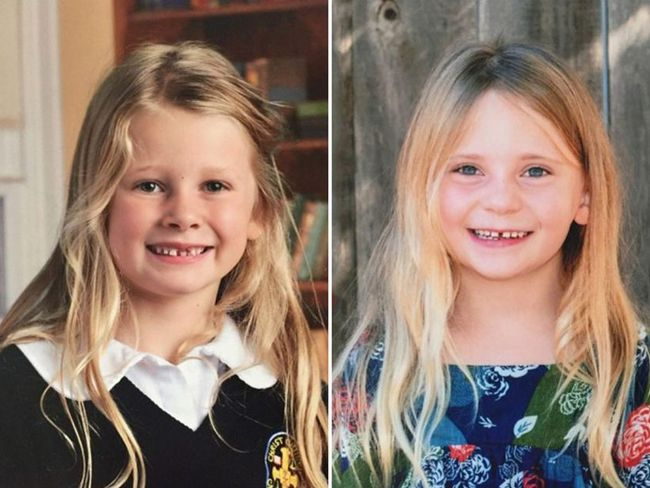 Chloe Berry, 6, left, and her 4-year-old sister Aubrey. (Handout)