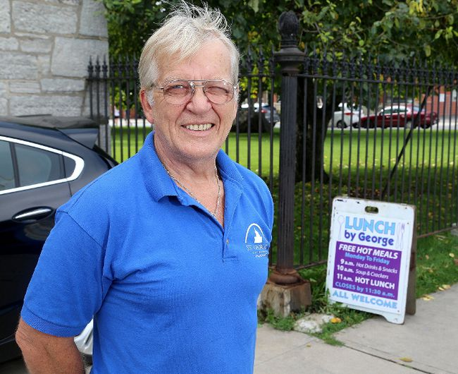 Brian English, custodian at St. George's Cathedral, is seen on Aug. 18.Ian MacAlpine/The Whig-Standard