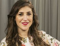 FILE - In this May. 23, 2017, file photo, actress and author Mayim Bialik poses for a photo in Los Angeles. Damian Dovarganes / AP