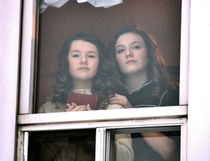 """Right, Sadey Wild (left) and Haylee Thompson, who will be playing Anne and Margo respectively in the upcoming local performance of """"The Diary of Anne Frank""""."""