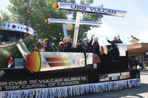 The Town of Vulcan entered the USS Vulcan into last June's Spock Days parade. Vulcan Advocate file photo