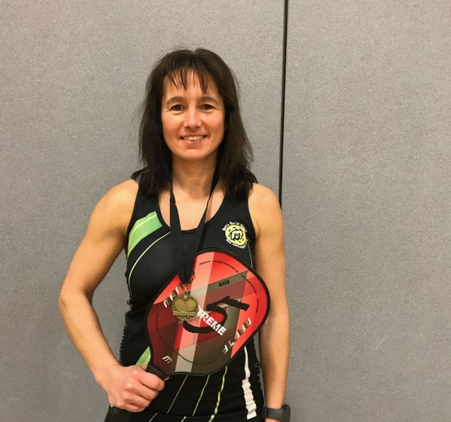 Pickleball player Rose Sawatzky is bringing awareness to the sport.