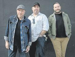 Tony Diteodoro, Matt Sobb and Steve Marriner of MonkeyJunk are touring in support of their sixth studio album Time To Roll. The blues rockers play London Music Club Thursday. (Wayne Cuddington/Special to Postmedia News)