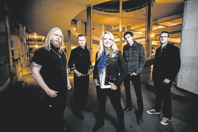 Sarah Smith's band includes, from left, Ken (the Zen) Ross, Guy Miskelly, Bobby Reynolds and Adam Plante. (Special to Postmedia News)