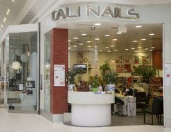 Cali Nails in White Oaks Mall has a history of violating rules, says local health unit. (MIKE HENSEN, The London Free Press)