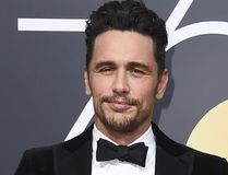"""In this Jan. 7, 2018 file photo, James Franco arrives at the 75th annual Golden Globe Awards in Beverly Hills, Calif. Facing accusations by an actress and a filmmaker over alleged sexual misconduct, James Franco said on CBS' """"The Late Show with Stephen Colbert"""" on Tuesday the things he's heard aren't accurate but he supports people coming out """"because they didn't have a voice for so long."""" (Photo by Jordan Strauss/Invision/AP, File)"""
