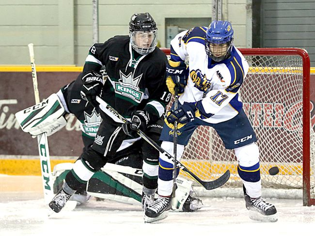 The Kings bounced back from a 4-3 loss to Leduc with a 6-1 win over MLAC. Photo Courtesy Target Photography