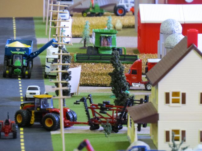 One of the projects which will be on display Sunday, Jan. 14 at the Chatham-Kent Toy Show and Sale at the John D. Bradley Convention Centre in Chatham.