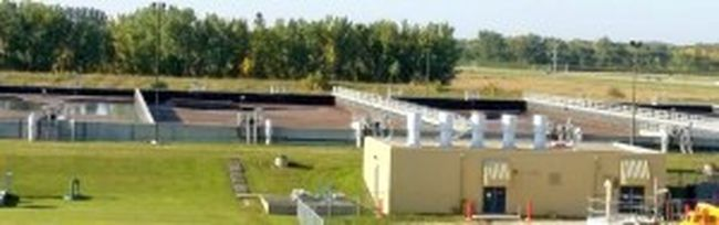 Work on Portage's Water Pollution Control Facility will begin in April, phase one of a three part project. (File photo)