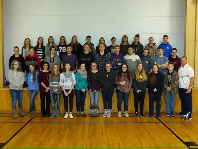 PHOTO COURTESY OF KEVIN BAILEY. A group of 34 students from Brant Christian School and three chaperones will travel to Mexico at the end of the month to build two homes for Mexican families.